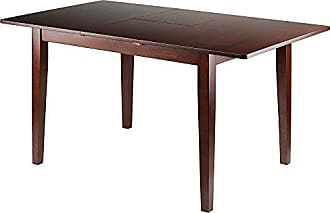 Winsome 94158 Anna w/Extension Top Dining Table, Walnut