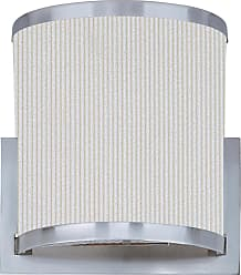 ET2 Contemporary Lighting Elements 2-Light Wall Sconce in Satin Nickel