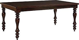 Standard Furniture McGregor Dining Table with 18 Leaf, Brown