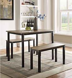 4D Concepts Boltzero 3 Piece Dining Table Set - 159356