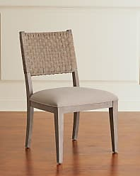 Hooker Furniture Pair of Mecate Woven-Back Dining Side Chairs