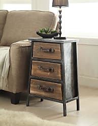 Carbon Loft Smith Industrial Style Metal and Wood 3-drawer Chest (Urban Loft)