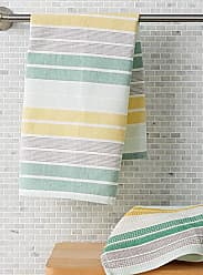 Simons Maison Green striped tea towels