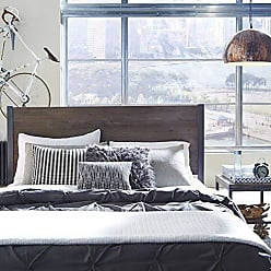Home Styles Barnside Metro Gray Queen Headboard by Home Styles