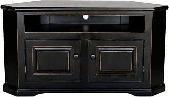Eagle Furniture Savannah 40 in. Wide-Screen Corner TV Stand - 92554WPBK