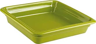Paderno World Cuisine 44313G06 Induction Porcelain Hotel Pan Medium Green