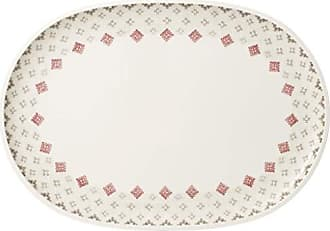 Villeroy & Boch Artesano Montagne Oval Serving Plate by Villeroy & Boch - Premium Porcelain - Made in Germany - Dishwasher and Microwave Safe - 17 x 11.75 Inches