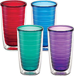 Trevis Tervis 1037267 Clear & Colorful Insulated Tumbler 4 Pack - Boxed, 16 oz Tritan, Assorted