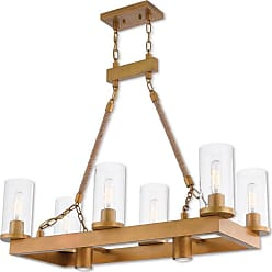 Livex Lighting 41066 Metuchen 2 Light 15 Wide Linear Chandelier with