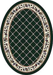 Milliken Carpet Signature Collection Symphony Oval Area Rug, 310 x 54, Emerald