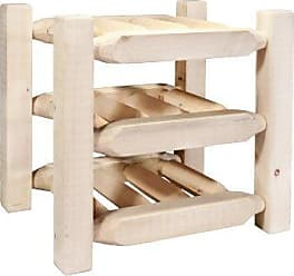 Montana Woodworks Homestead Collection Countertop Wine Rack, Ready to Finish