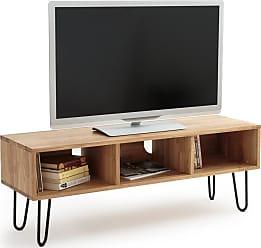 la redoute interieurs tv mobel adza industrial style eiche rot la