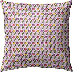 Kavka Designs Tulips Pink Outdoor Pillow - OPI-OP16-16X16-NOR541