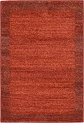 Unique Loom Del Mar Collection Contemporary Transitional Terracotta Area Rug (2 x 3)