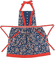 Peking Handicraft Dancing Daisies Apron 27x29.75