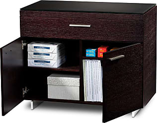 BDI Sequel 6015 Espresso Stained Oak Storage Cabinet