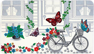 Évolur Home Spill Flowers Nursery Rug, Girls - 1053