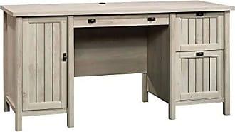 Sauder Sauder 421934 Costa Computer Desk, L: 59.06 x W: 23.31 x H: 30.00, Chalked Chestnut finish