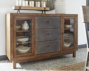 Ashley Furniture Harlynx Dining Room Server, Brown/Gray