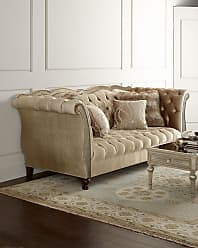 Haute House Home Leslie Mirrored Tufted Sofa