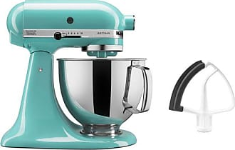 KitchenAid Artisan Series 325W Tilt Back Head Stand Mixer And Flex Edge  Beater, Aqua