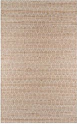 Momeni Rugs Momeni Rugs BENGABEN-1NAT80A0 Bengal Transitional Geometric Area Rug 80 x 100, Natural Brown