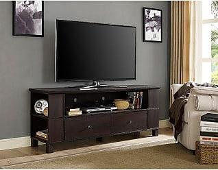 Walker Edison Wood TV Stand Storage Console - HN60CMPAG