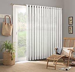 Ellery Homestyles PARASOL Key Largo Indoor/Outdoor Patio Door Panel, 84 x 100, White