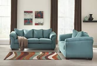 Ashley Furniture Darcy Sofa And Loveseat Sky