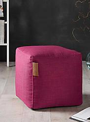 Simons Maison Canvas cube pouf