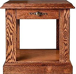Forest Designs FD-2115- TC-26h-MA Traditional End Table, 21 W x 26 H x 24 D, Mahogany Alder