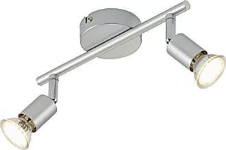 Deckenlampe LED Lampe Deckenspot Wandleuchte Wandstrahler schwenkbar Wohnzimmerlampe LED Strahler Spots Deckenstrahler Briloner Leuchten Deckenleuchte
