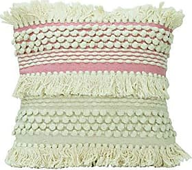 Foreside Home And Garden 18X18 Hand Woven Jules Pillow