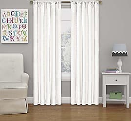 Ellery Homestyles Eclipse 10707042X054WHI Kendall 42-Inch by 54-Inch Thermaback Room Darkening Single Panel,White