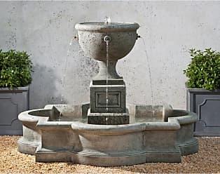 Campania International Navonna Cast Stone Outdoor Fountain French Limestone - FT-197-FL