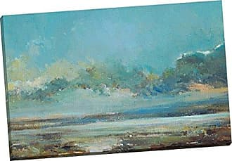 Portfolio Canvas Decor Portfolio Canvas Decor Stormy Blues I by Elinor Luna Wrapped/Stretched Canvas Wall Art, 24 x 36