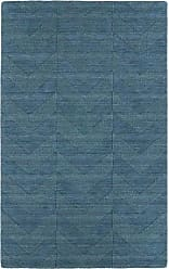 Kaleen Rugs Imprints Modern Hand-Tufted Area Rug, Turquoise/Light Blue, 2 x 3