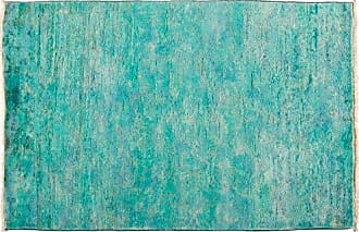 Solo Rugs Vibrance Hand Knotted Area Rug 3 1 x 5 1 Blue