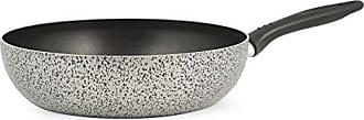 34 cm Rivestimento Antiaderente Home Salt NPepper Padella in Alluminio