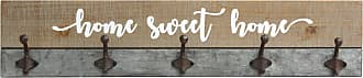 Stratton Home Decor Rustic Home Sweet Home Hooks - S12901