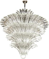 VENINI Exquisite Five-tier Palma Murano Glass Chandelier