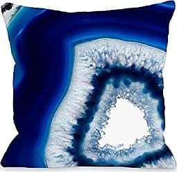 One Bella Casa 75039PL18 Pillow, 18 x 18, Navy