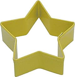 CybrTrayd R&M Star Cookie Cutter with Brightly Colored Durable Baked-On Polyresin Finish, 2.75-Inch