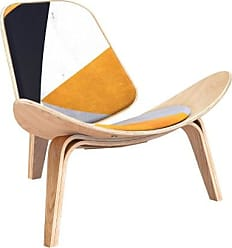 NyeKoncept Nyekoncept Shell Orange Angular Accent Chair