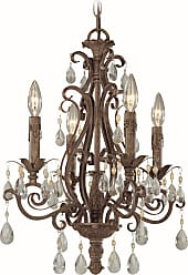 Craftmade Exteriors Englewood - French Roast 4 Light Chandelier in French Roast