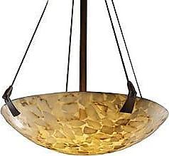 Justice Design Group Alabaster Rocks! Bowl Pendant