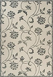 L.R. Resources Inc. LR Home LR81469-IVO86B6 Divergence Area Rug, 86 X 116, Ivory