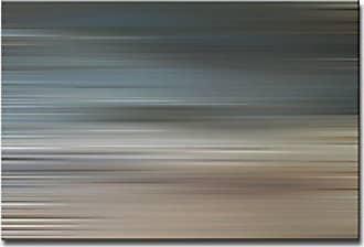 Ready2HangArt Ready2hangart Blur Stripes XXII Canvas Wall Art, 20 x 30