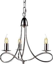 Elegant Furniture & Lighting Elegant Lighting Lyndon Pendant Light Bronze Crystals, Size: 18 in. - 1452D18DB