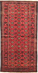 Nain Trading Persian Baluch Rug 70x38 Runner Dark Brown/Orange (Hand-Knotted, Iran/Persia, Wool)